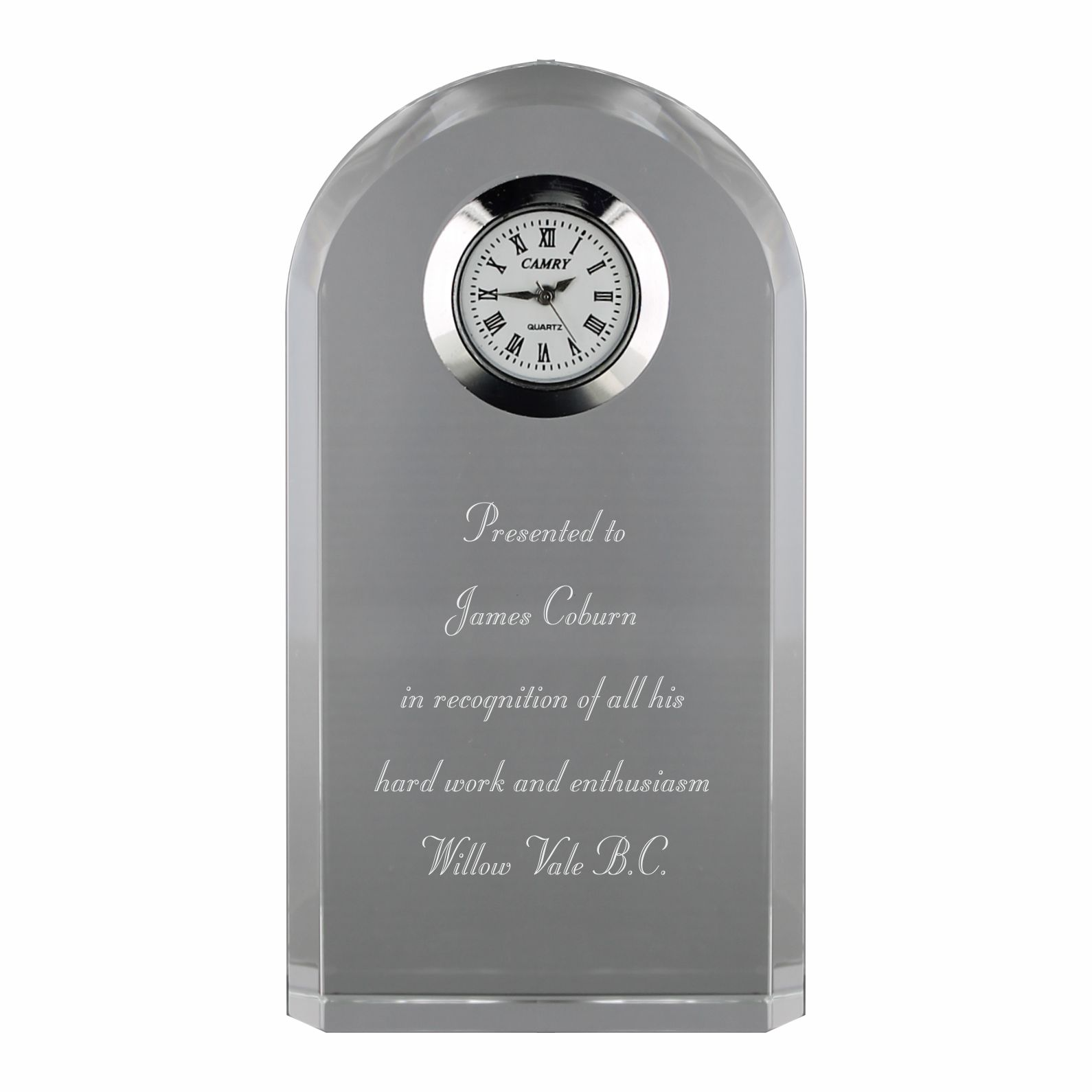 CC436 Crystal Clock Image
