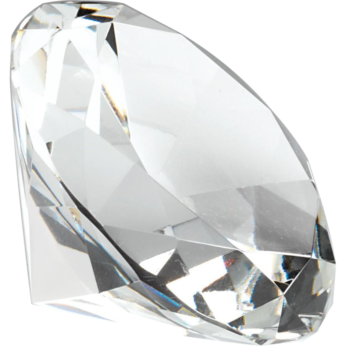 CC600 Crystal Diamond Paperweight Image
