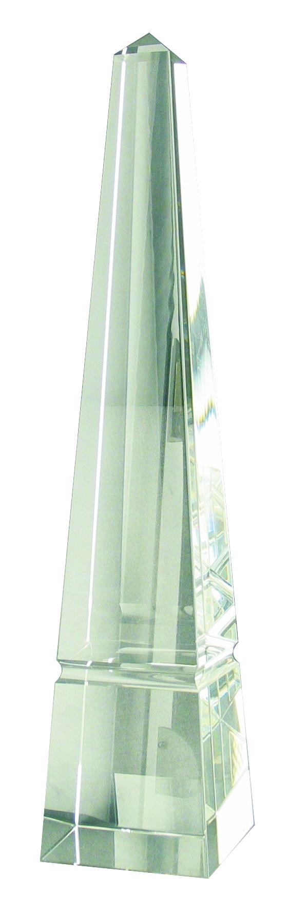 CC724 Crystal Obelisk Award Image
