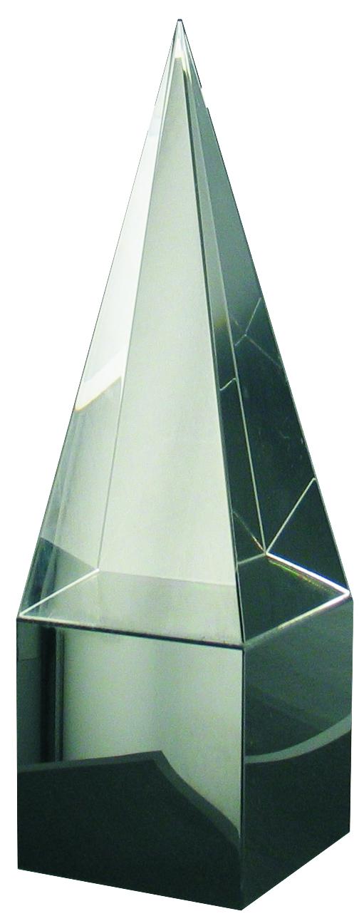 CC726 Crystal Pyramid Award Image