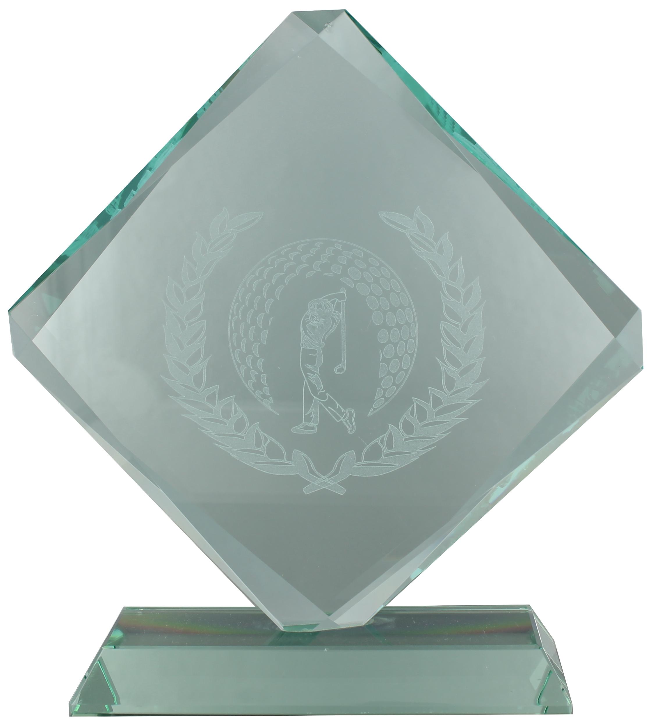 GL03 Jade Glass Diamond Award Image