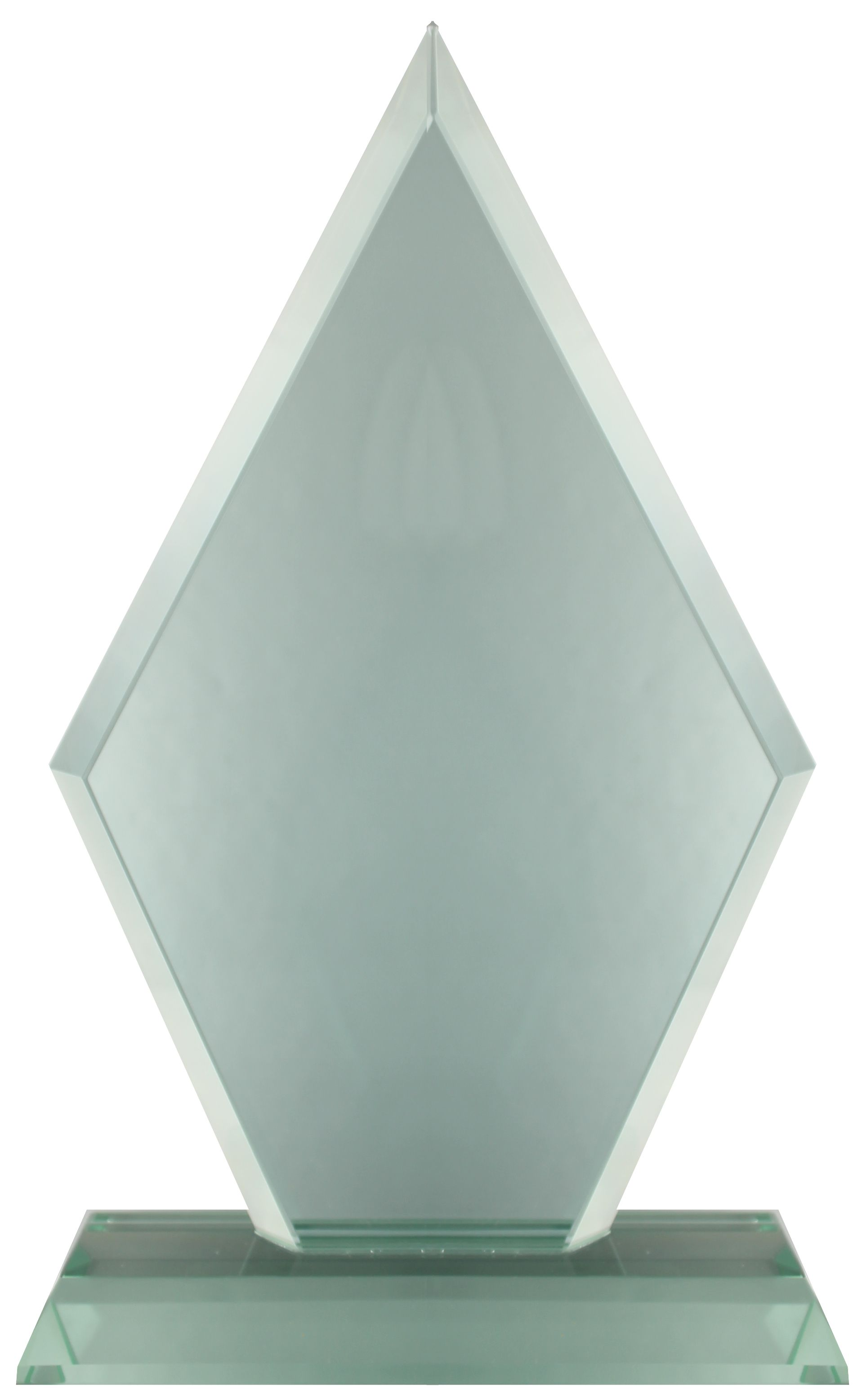 GL27 Jade Glass Pointed Plaque Image