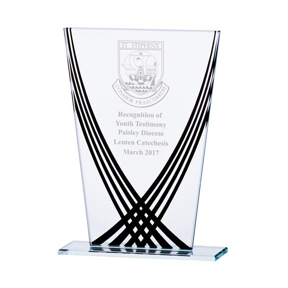 CR17097 Aztec Glass Award Image