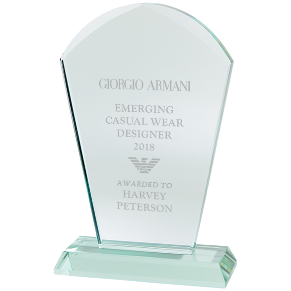 CR18013 Explorer Jade Glass Award Image