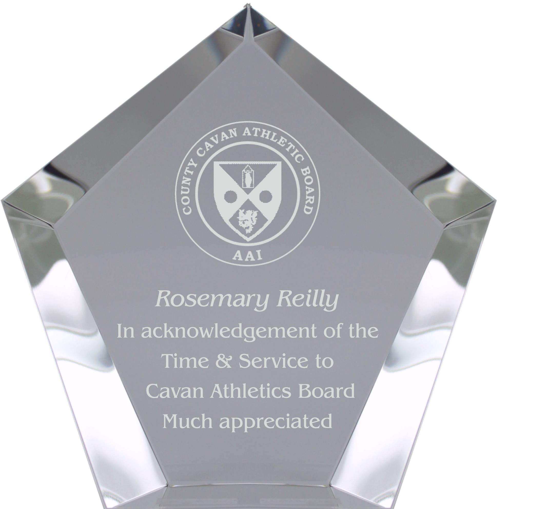 CC765 Series Glass Award Image