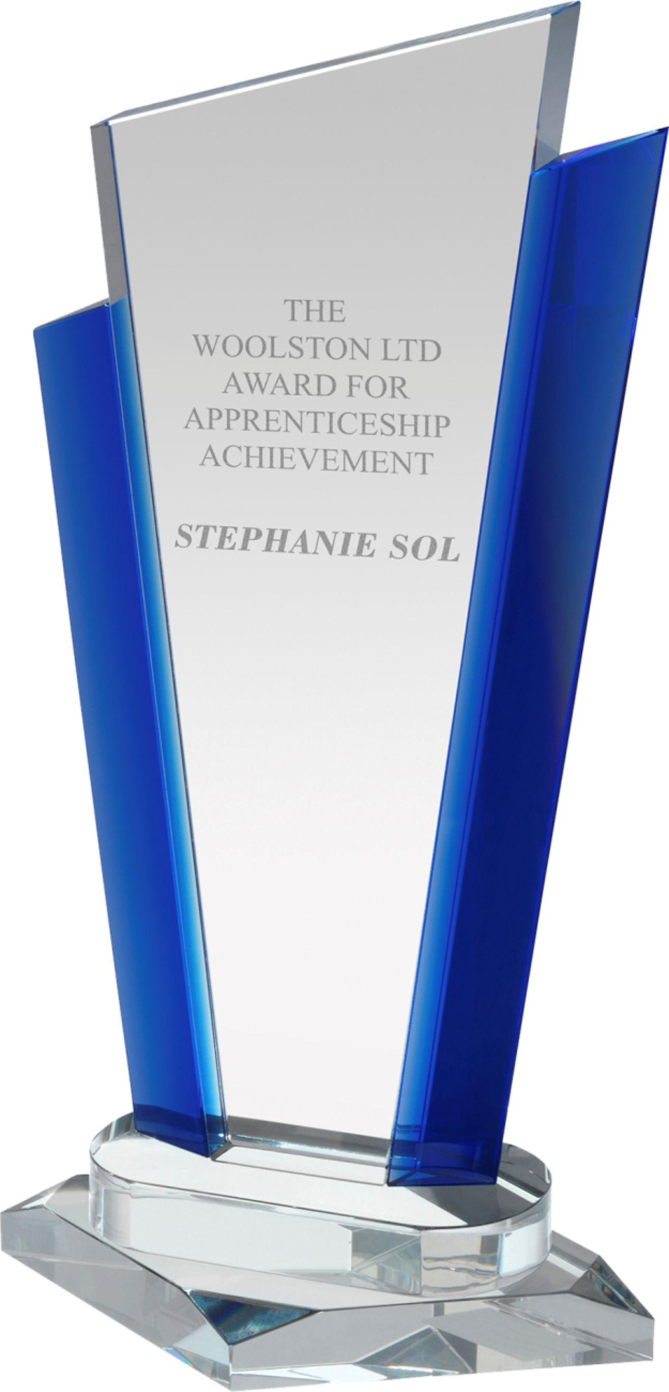 SG006 Signature Crystal Award Image